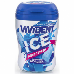 VIVDENT GUM ICE PEPPERMINT...