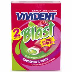 VIVIDENT FRUIT BLAST GUM...