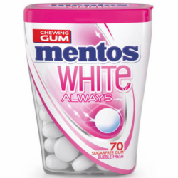 MENTOS WHITE ALWAYS...