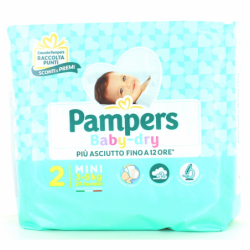 PAMPERS PANNOLINI BABY 2...
