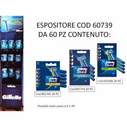 GILLETTE BLUE II RASOIO 80...